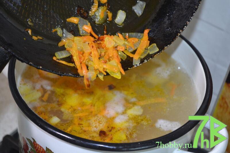 суп из крапивы и щавеля
