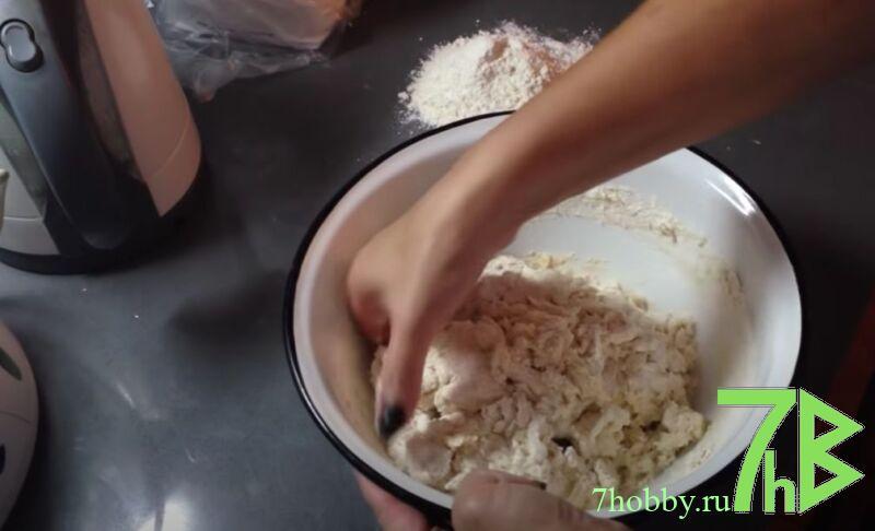 Тесто для пельменей на молоке без яиц