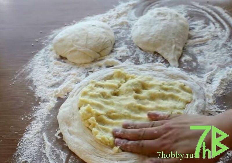 Настоящие осетинские пироги с картошкой и сыром
