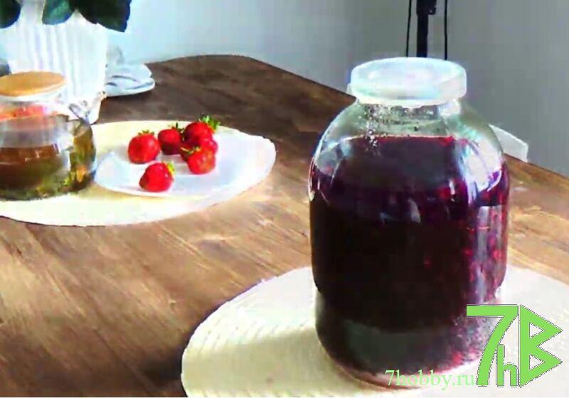 Настойка из черной смородины на водке в домашних условиях