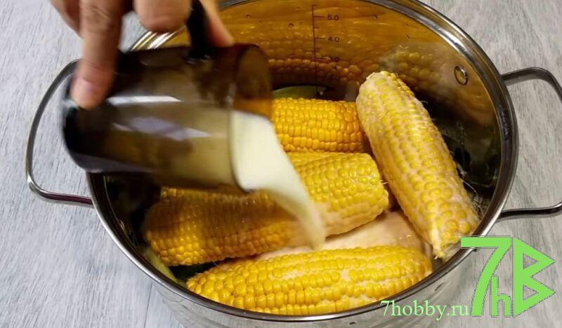 кукуруза на молоке